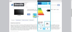EU Energy Logo and Label Example